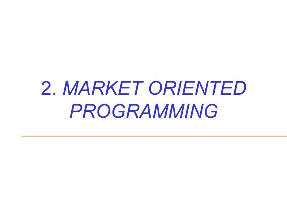 2. MARKET ORIENTED PROGRAMMING