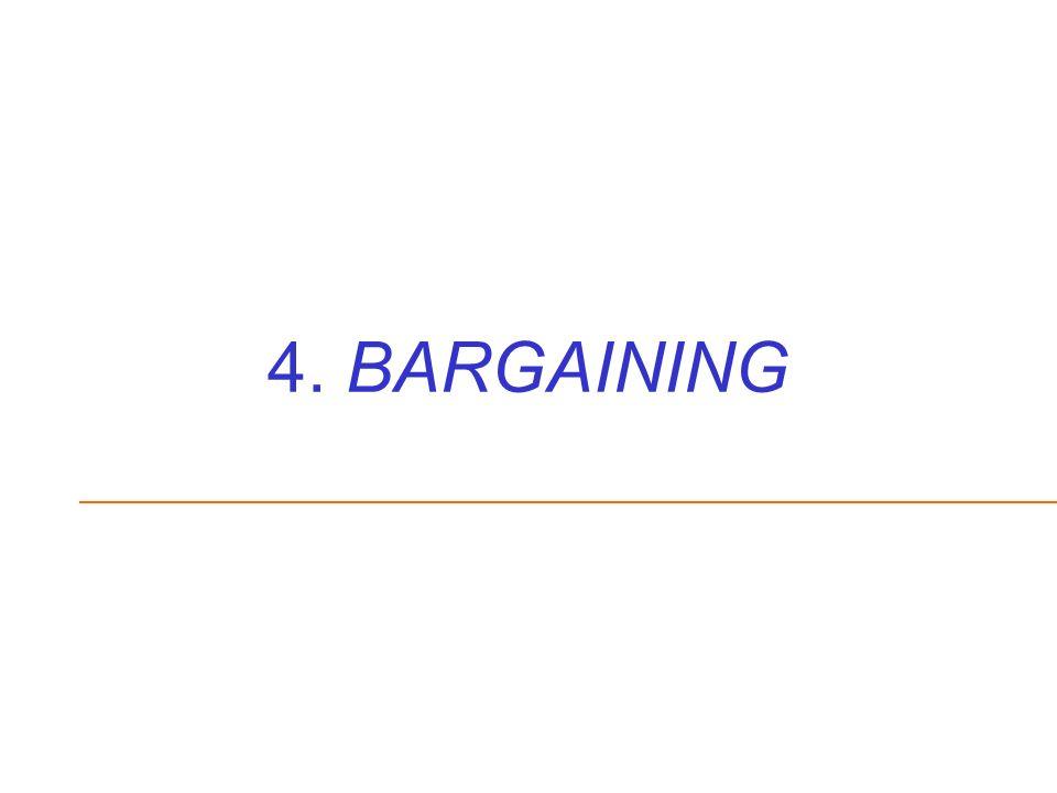 4. BARGAINING