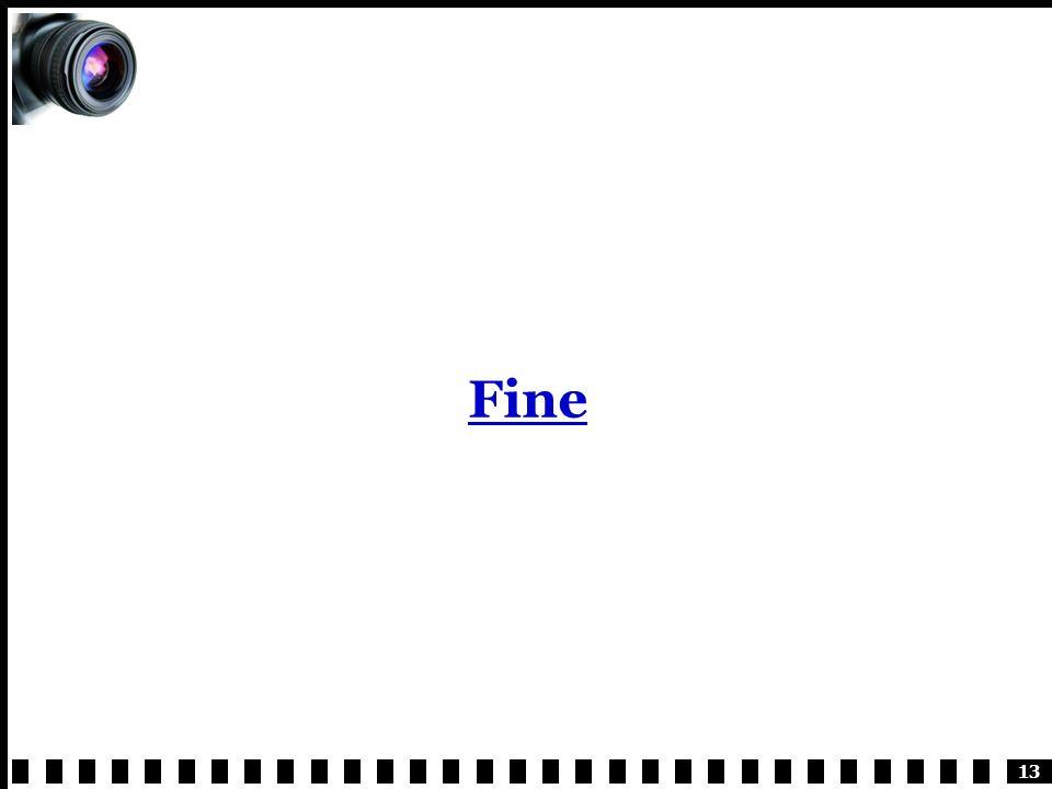 13 Fine