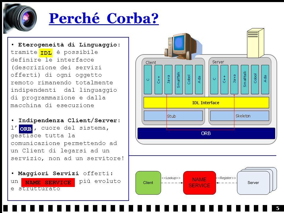 5 Perché Corba.