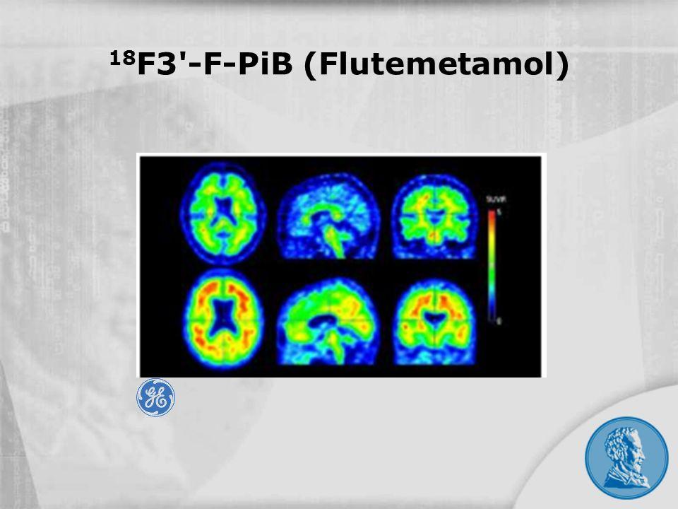 18 F3'-F-PiB (Flutemetamol)