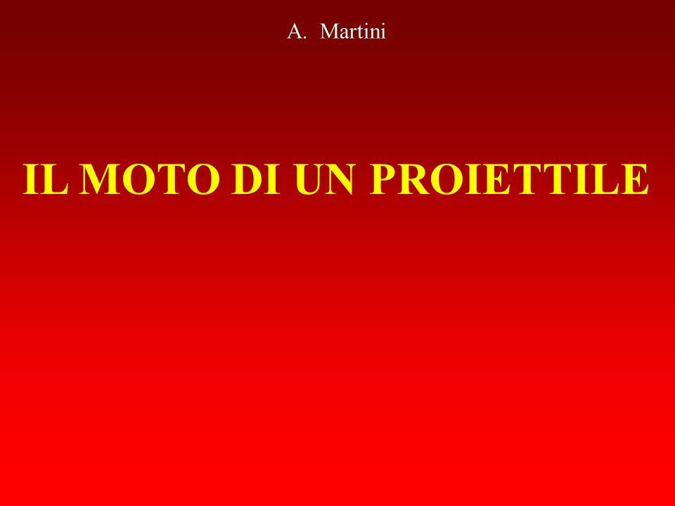 IL MOTO DI UN PROIETTILE A. Martini