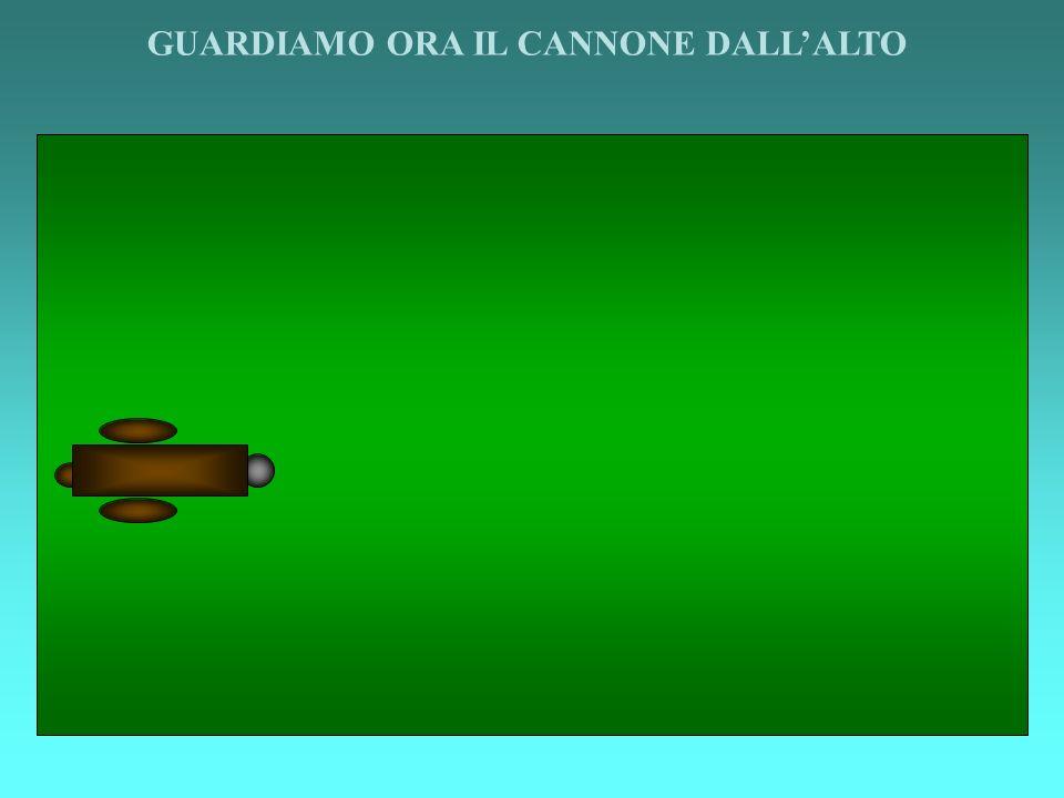 GUARDIAMO ORA IL CANNONE DALLALTO