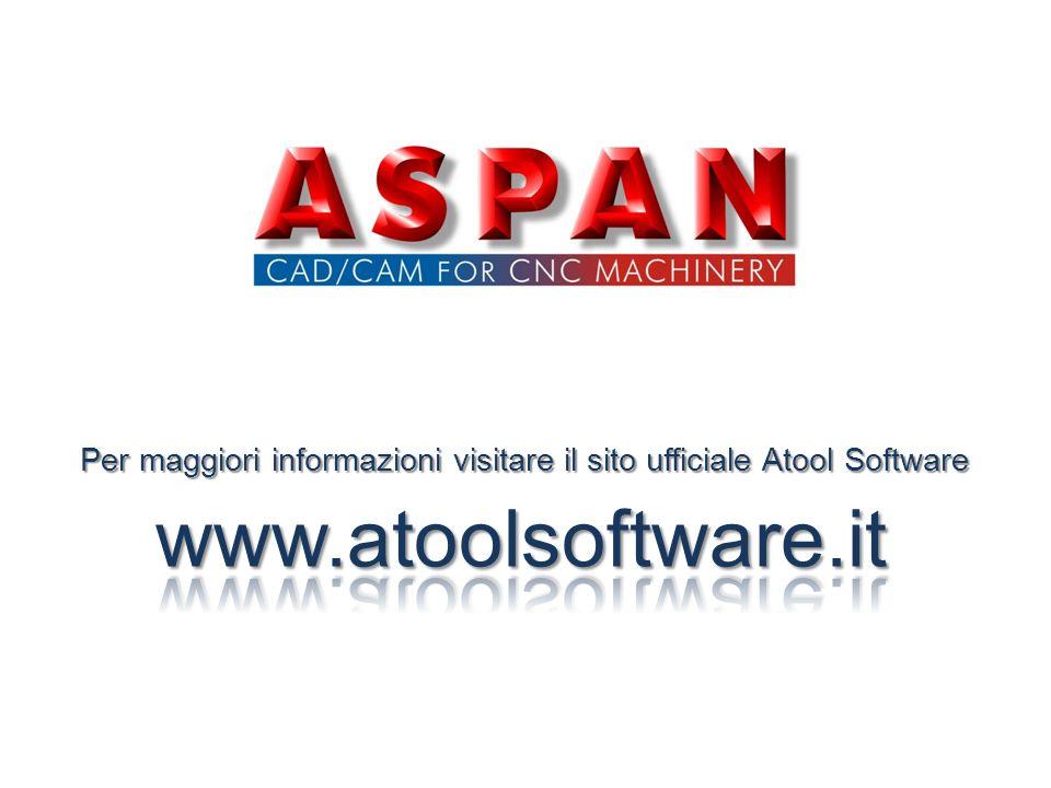 Per maggiori informazioni visitare il sito ufficiale Atool Software