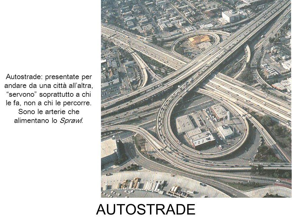 AUTOSTRADE Autostrade: presentate per andare da una città allaltra, servono soprattutto a chi le fa, non a chi le percorre. Sono le arterie che alimen