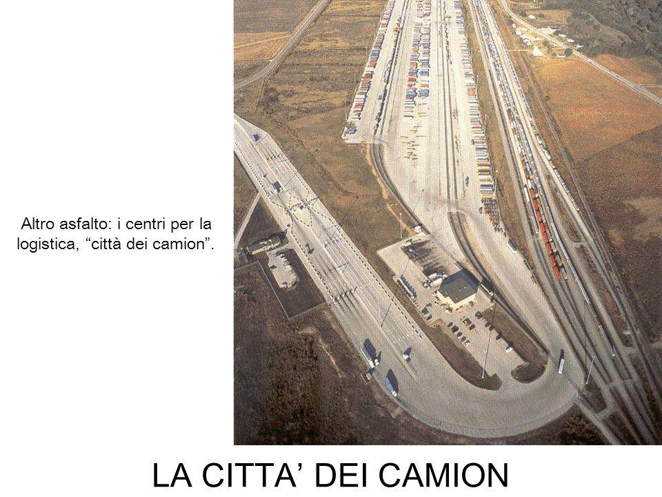 LA CITTA DEI CAMION Altro asfalto: i centri per la logistica, città dei camion.