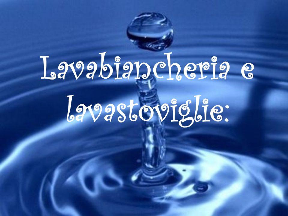 Lavabiancheria e lavastoviglie: