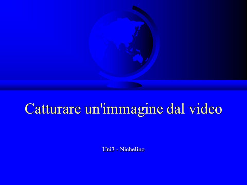 Catturare un'immagine dal video Uni3 - Nichelino
