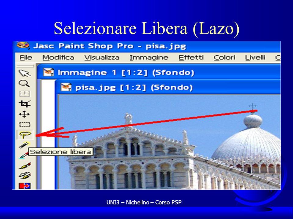 UNI3 – Nichelino – Corso PSP Selezionare Libera (Lazo)