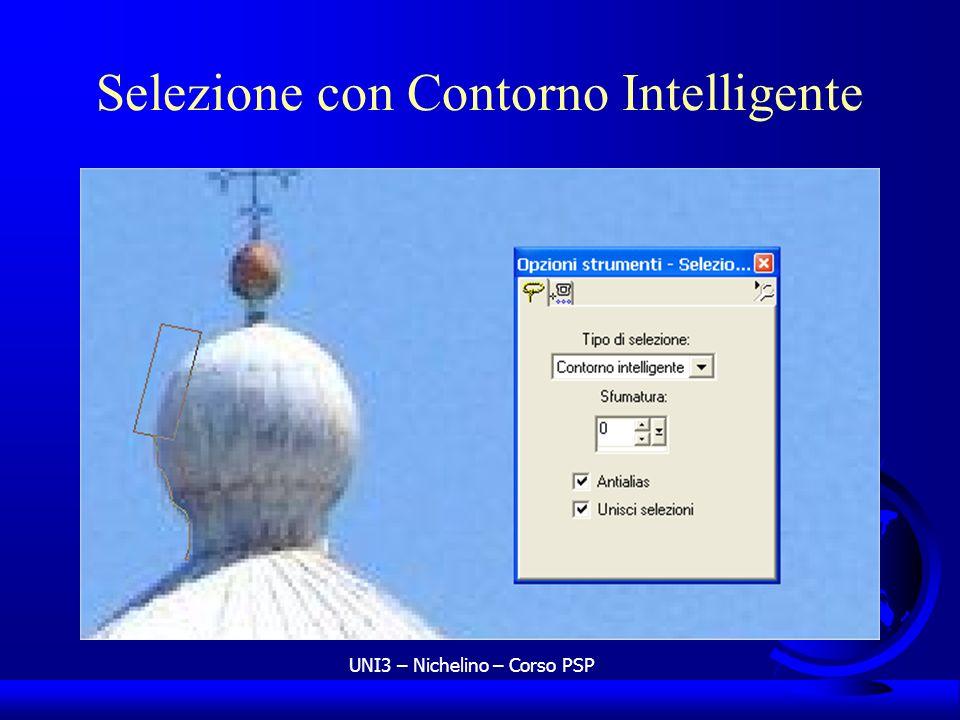 UNI3 – Nichelino – Corso PSP Selezione con Contorno Intelligente