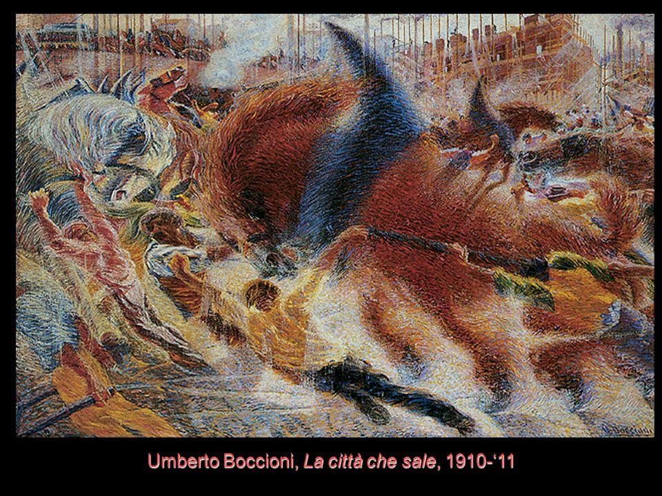 Umberto Boccioni, La città che sale, 1910-11