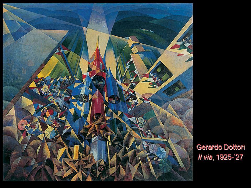 Gerardo Dottori Il via, 1925-27