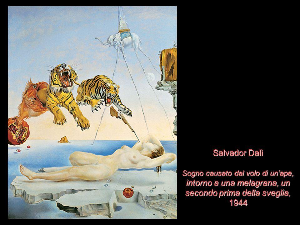 Salvador Dalì Sogno causato dal volo di unape, intorno a una melagrana, un secondo prima della sveglia, 1944