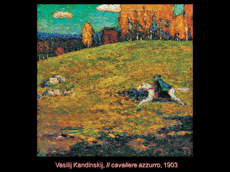 Vasilij Kandinskij, Il cavaliere azzurro, 1903