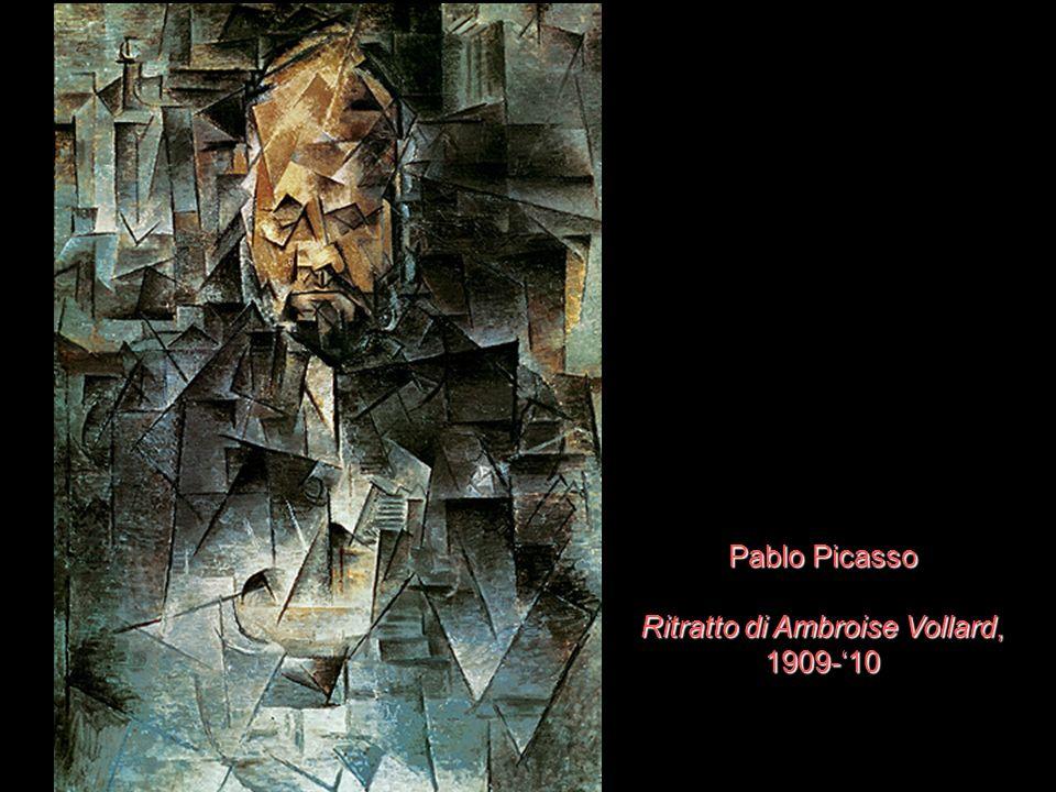 Pablo Picasso Ritratto di Ambroise Vollard, 1909-10