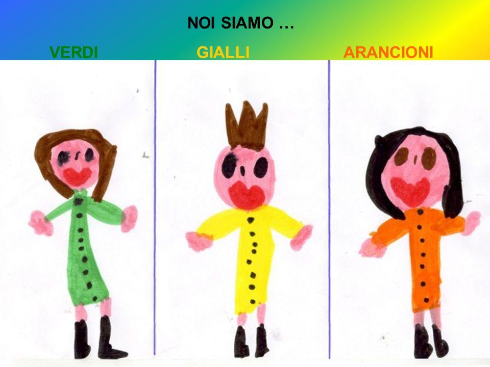 NOI SIAMO … VERDIGIALLIARANCIONI