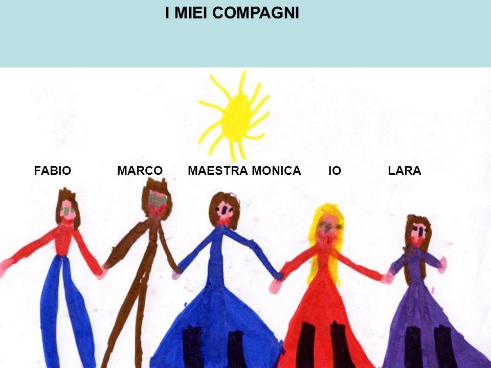 I MIEI COMPAGNI FABIO MARCO MAESTRA MONICAIO LARA