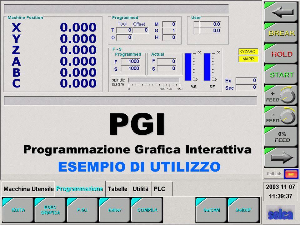 ESEMPIO DI UTILIZZO PGI Programmazione Grafica Interattiva