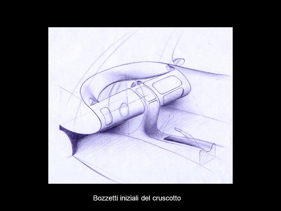 Sketch iniziali del cruscotto