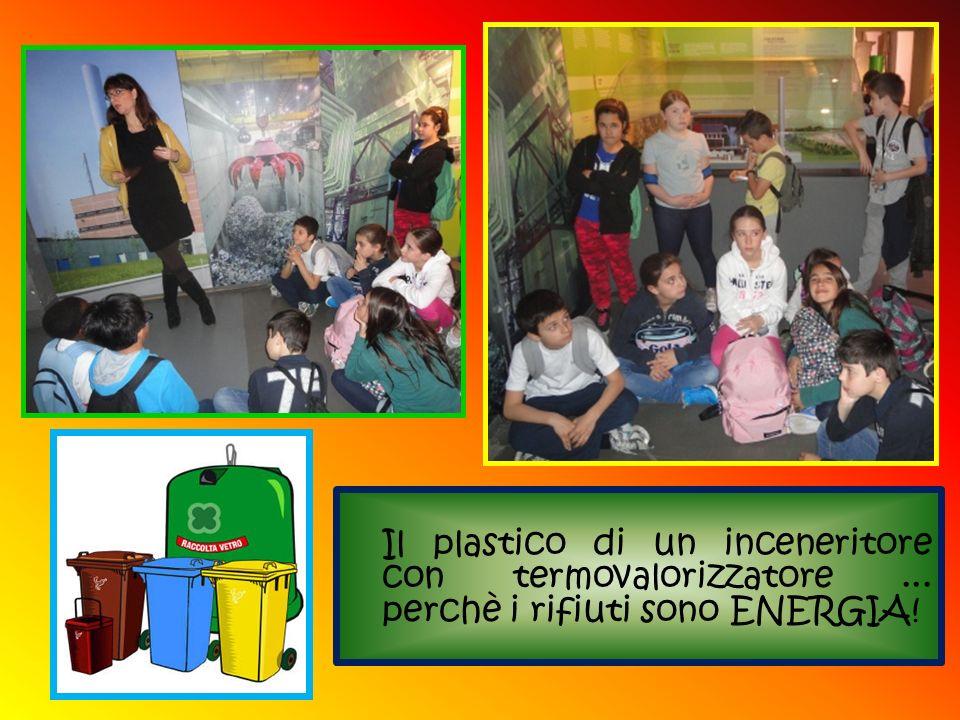 Il plastico di un inceneritore con termovalorizzatore... perchè i rifiuti sono ENERGIA!
