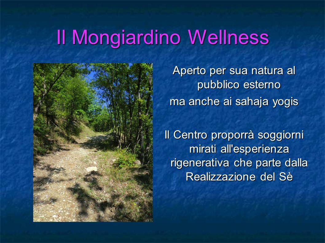 Il Mongiardino Wellness Aperto per sua natura al pubblico esterno ma anche ai sahaja yogis Il Centro proporrà soggiorni mirati all'esperienza rigenera