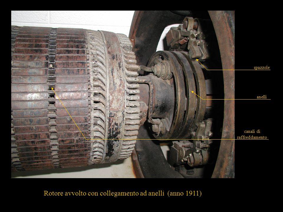 26 conduttori attivi anelli di corto circuito Rotore a gabbia in alluminio pressofuso alette di raffreddamento Avvolgimento di rotore a gabbia