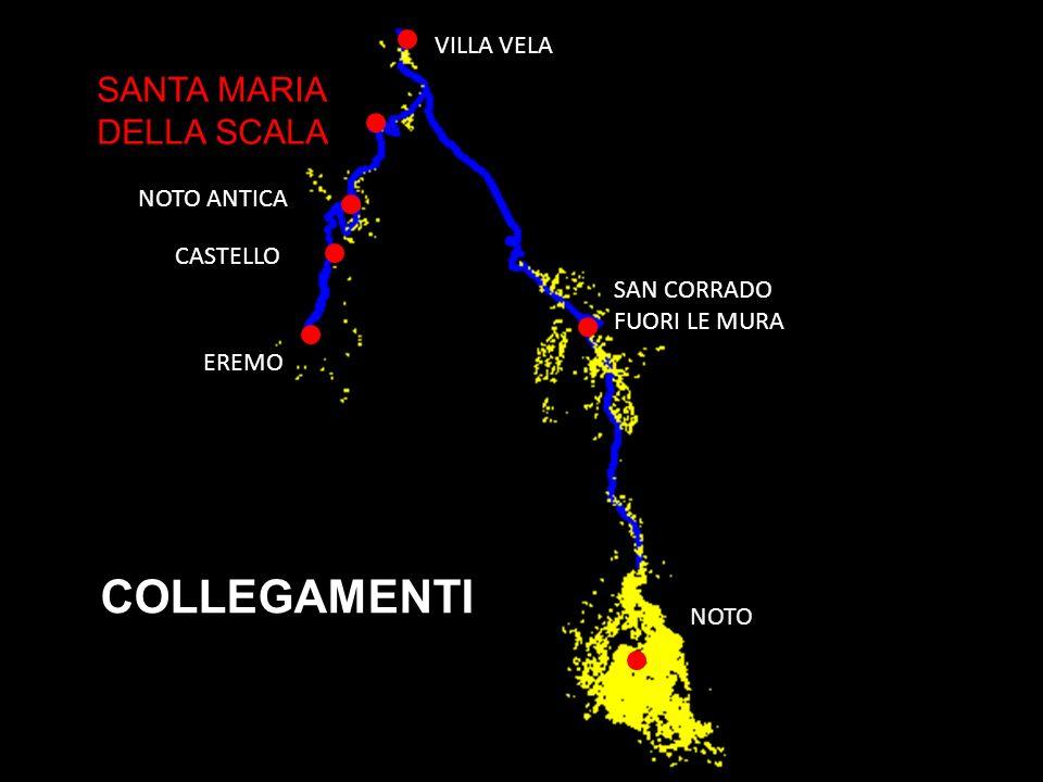 PROGETTO : Salto di quota LUOGO : Santa Maria della Scala (12 km da Noto) Il convento di Santa Maria della Scala sorge lungo la strada per raggiungere Noto antica.