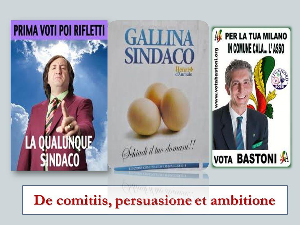 De comitiis, persuasione et ambitione