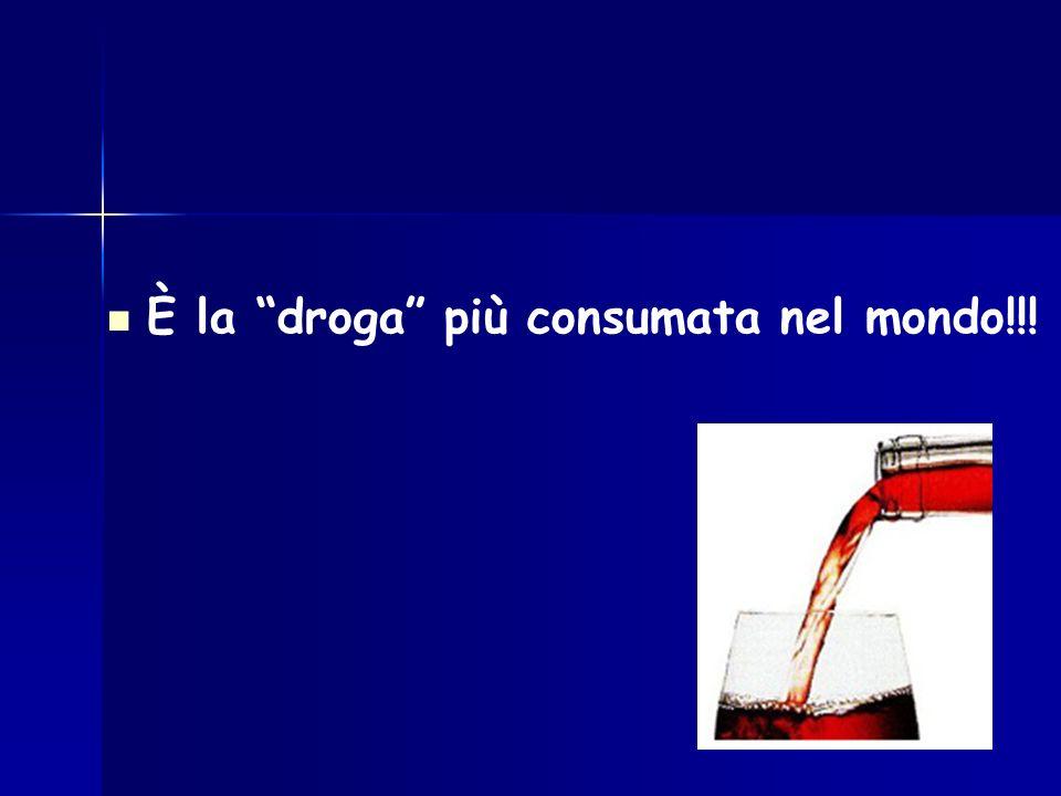È la droga più consumata nel mondo!!!