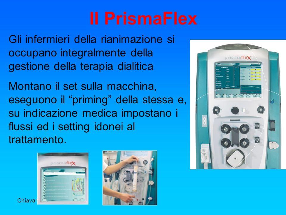 Chiavari 03 novembre 2006 Il PrismaFlex Gli infermieri della rianimazione si occupano integralmente della gestione della terapia dialitica Montano il