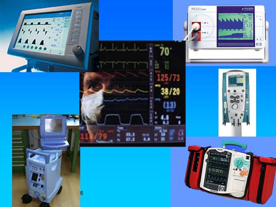 Monitoraggio in UTIR Generalmente i pazienti ricoverati in rianimazione sono monitorati attraverso: Catetere Venoso Centrale (giugulare o succlavia o femorale) per valutare la pvc Monitoraggio Invasivo della pressione arteriosa Cateterizzazione vescicale per valutazione diuresi Monitoraggio ECG, spO2, NiBp