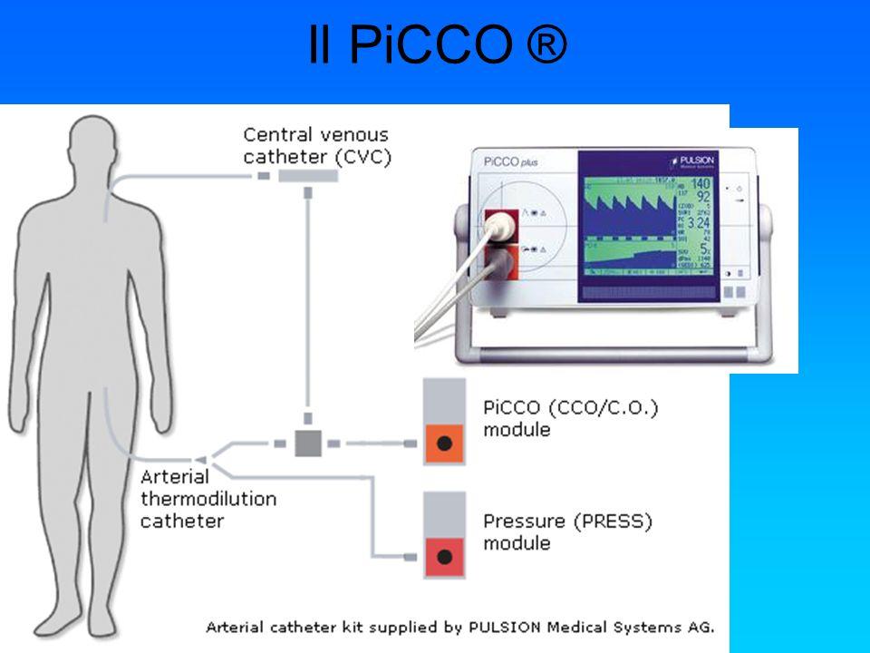 Chiavari 03 novembre 2006 Il PiCCO ® Permette una valutazione accurata dellemodinamica del paziente.
