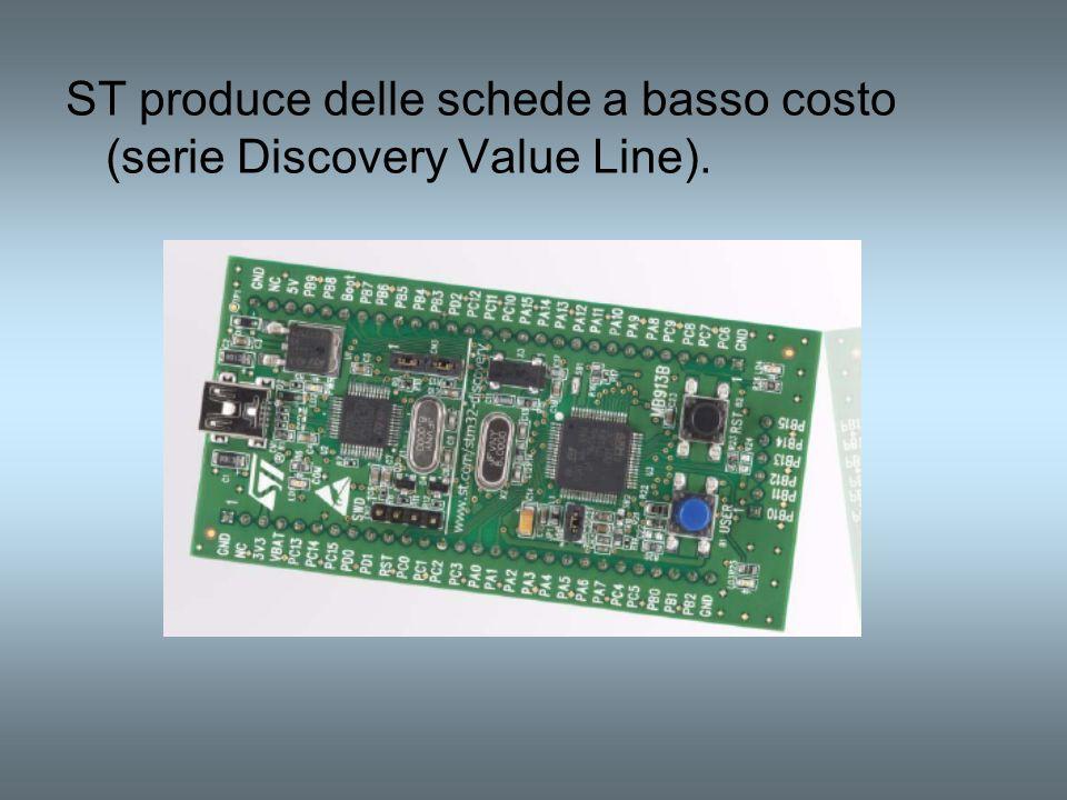 ST produce delle schede a basso costo (serie Discovery Value Line).