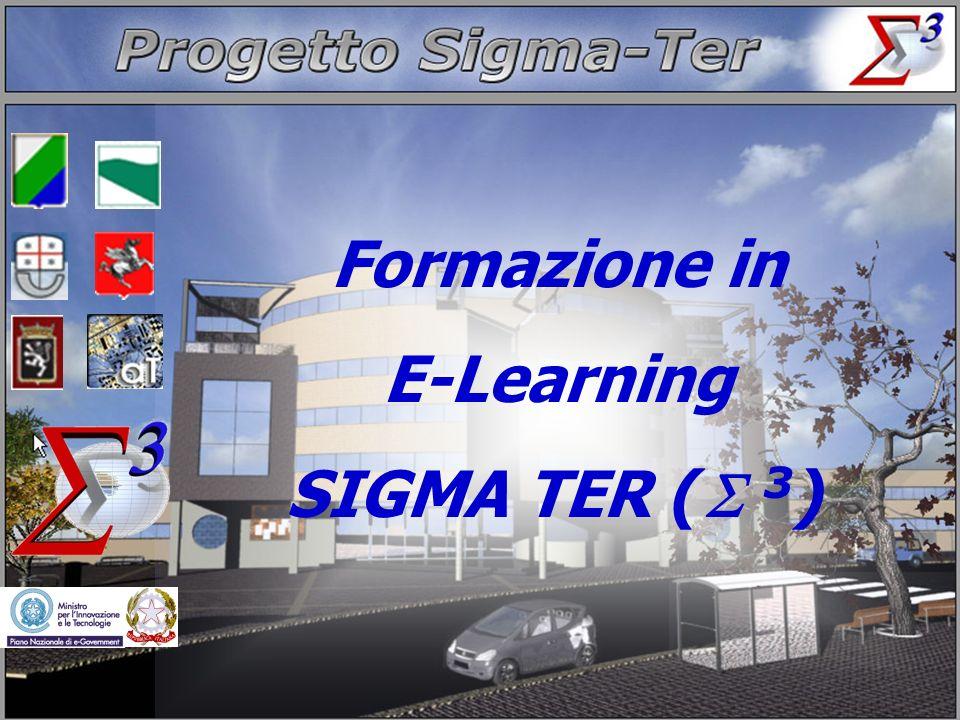 2 Domenico Longhi Formazione in E-Learning SIGMA TER (Σ 3 ) Agenda Il progetto SigmaTerIl progetto SigmaTer Il progetto APQ13-10 (SIGMA TER ABRUZZO) La piattaforma di E-Learning Riferimenti