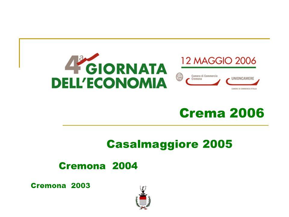 Cremona 2003 Cremona 2004 Casalmaggiore 2005 Crema 2006