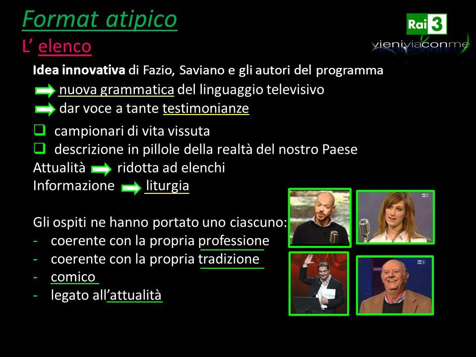Struttura dell elenco Elenco dei pensieri di una ricercatrice sul tetto dell Università di Roma ( legge Francesca Coin) 1.