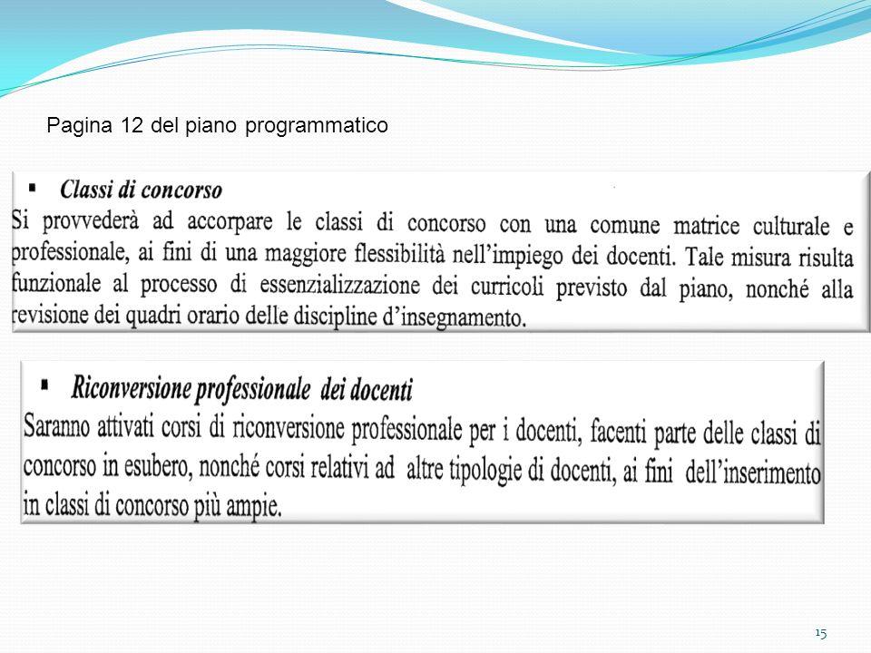 15 Pagina 12 del piano programmatico