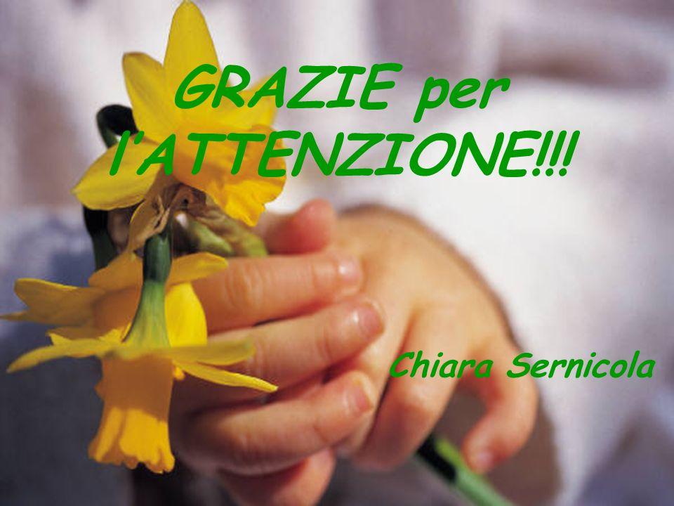 GRAZIE per lATTENZIONE!!! Chiara Sernicola
