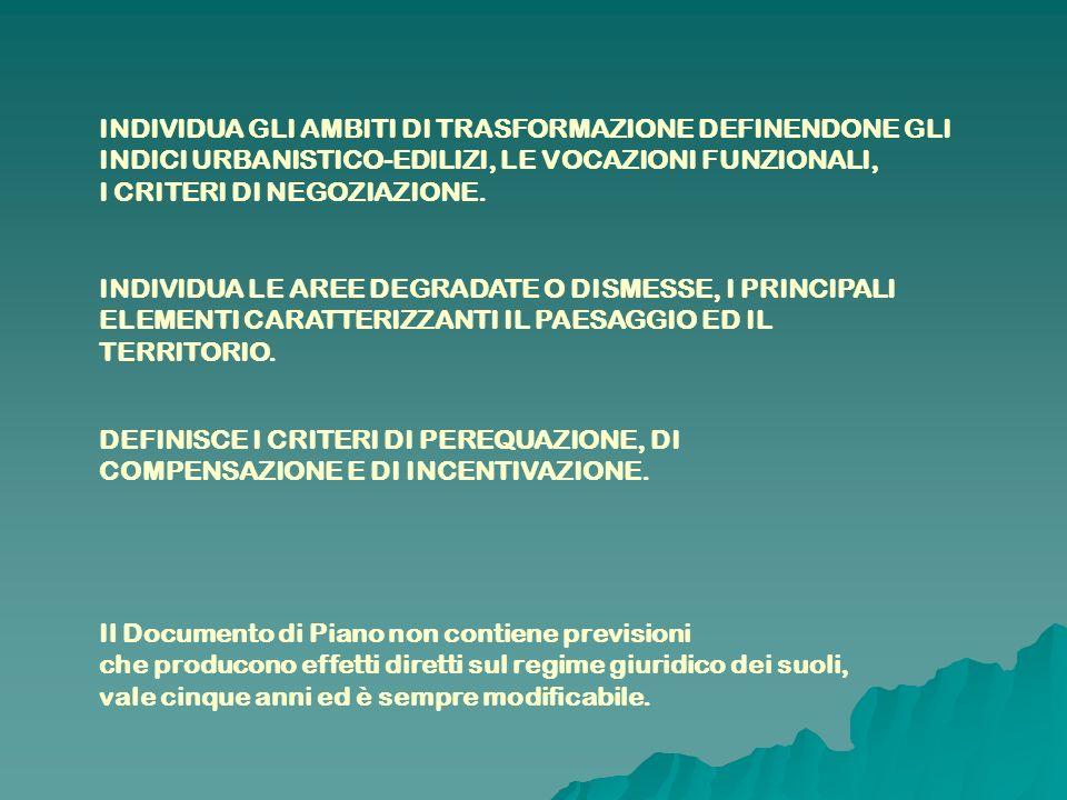 ASSICURA: UNA DOTAZIONE GLOBALE DI AREE PER ATTREZZATURE PUBBLICHE E DI INTERESSE PUBBLICO E GENERALE; LA DOTAZIONE A VERDE, I CORRIDOI ECOLOGICI E IL SISTEMA DEL VERDE DI CONNESSIONE TRA TERRITORIO RURALE E QUELLO EDIFICATO, NONCHE TRA OPERE VIABILISTICHE E AREE URBANIZZATE; IL TUTTO IN FUNZIONE DEL LORO UTILIZZO DA PARTE DELLA POPOLAZIONE: CHE STABILMENTE RISIEDE ; CHE SI INSEDIERA SECONDO LE PREVISIONI DEL DOCUMENTO DI PIANO; CHE GRAVITA NEL TERRITORIO (OCCUPATI, STUDENTI, UTENTI DI SERVIZI SOVRACOMUNALI…).