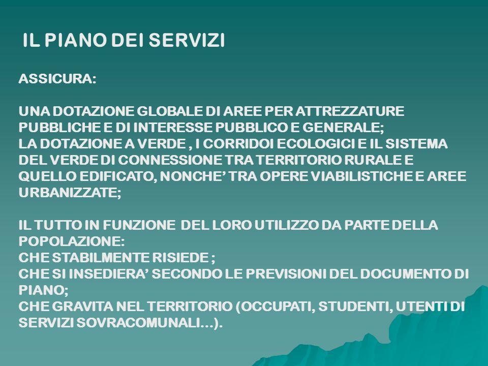 INDIVIDUA LE AREE PER L EDILIZIA RESIDENZIALE PUBBLICA (ERP), QUALE SERVIZIO DI INTERESSE PUBBLICO O GENERALE.