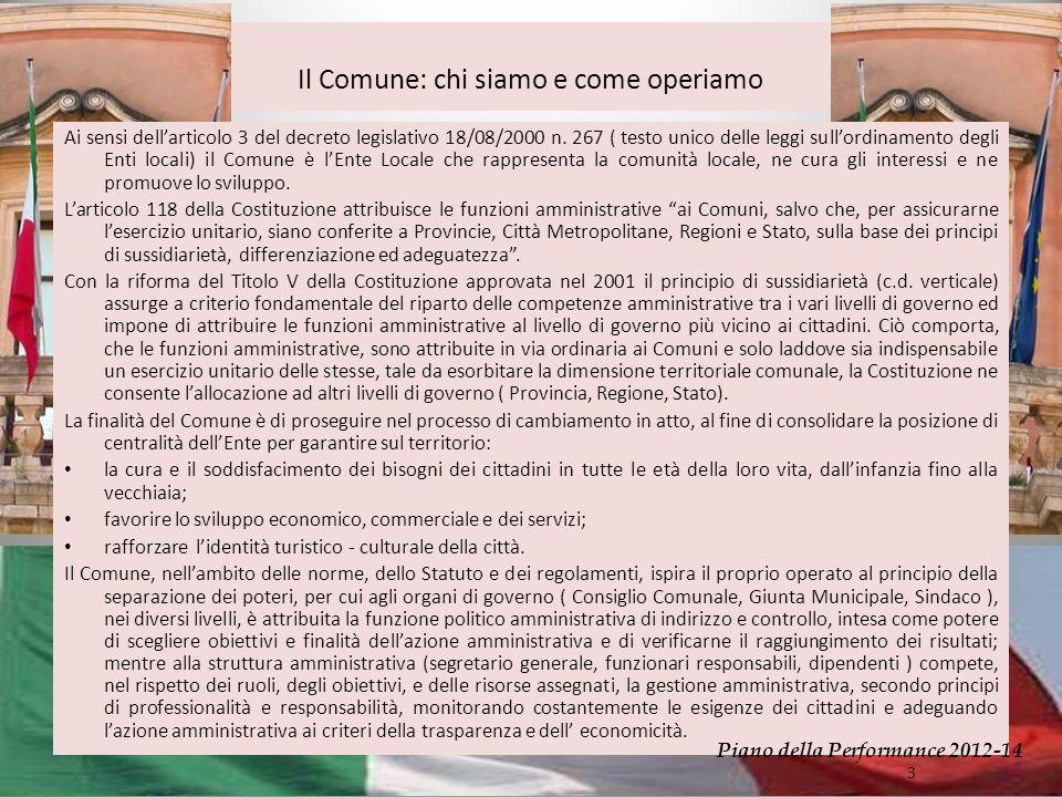Ai sensi dellarticolo 3 del decreto legislativo 18/08/2000 n.