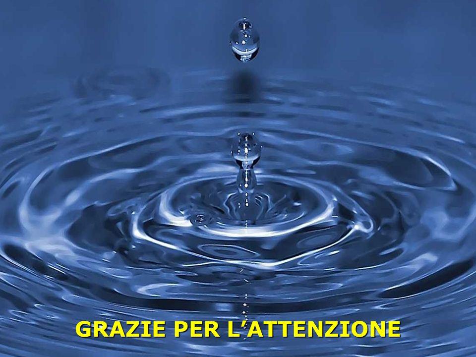Lutilizzo consapevole della risorsa idrica in Umbria Perugia Green Days – La Risorsa Acqua Regione Umbria GRAZIE PER LATTENZIONE