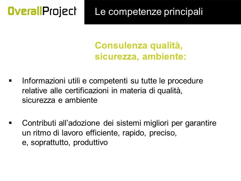 Consulenza qualità, sicurezza, ambiente: Informazioni utili e competenti su tutte le procedure relative alle certificazioni in materia di qualità, sic