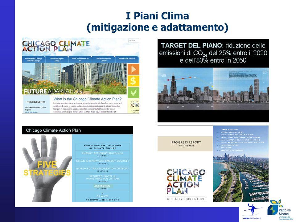 I Piani Clima (mitigazione e adattamento)