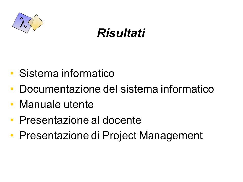 Vincoli Temporali: 31 maggio - presentazione del piano di progetto 25 giugno - presentazione del progetto e consegna al cliente Strumentali: Server Linux con Apache, PHP e PostgreSQL Client in ambiente Windows