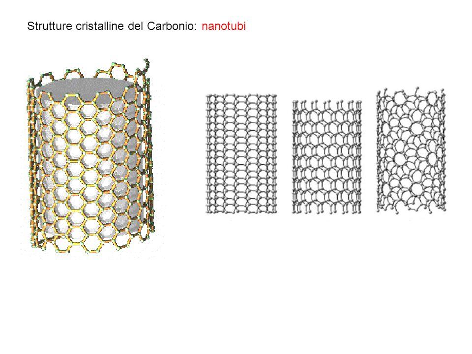 Strutture cristalline del Carbonio: nanotubi