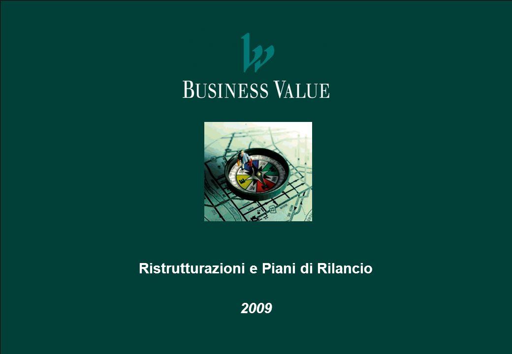 Ristrutturazioni e Piani di Rilancio 2009