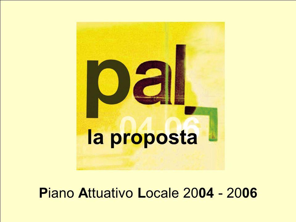 la proposta Piano Attuativo Locale 2004 - 2006