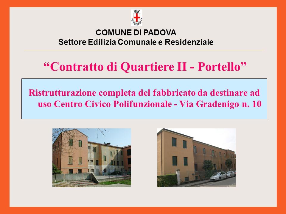 Si tratta della ristrutturazione completa del fabbricato di via Gradenigo n.