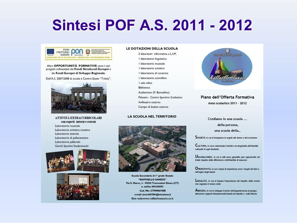 Sintesi POF A.S. 2011 - 2012